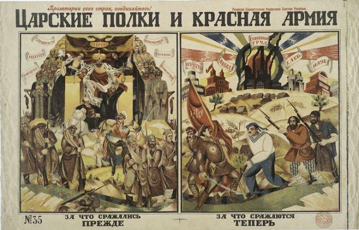 Плакаты времен Гражданской войны (80 фото)