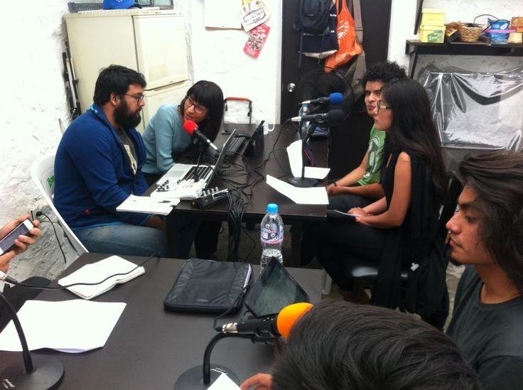 Misael, Karla, Pablo, Vanessa, Josué Interruptus Radio Segunda Temporada, Programa 1. Materia Enseñanza de la Historia. FFyL UNAM