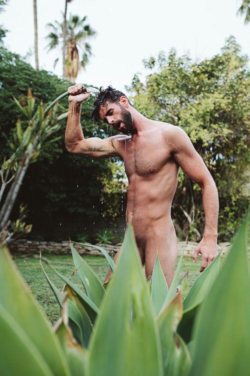 Naked lesbian sex in shower