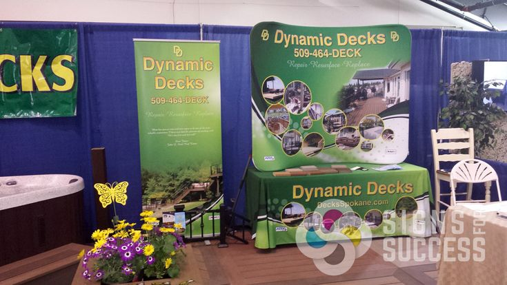 Trade Show Table Covers will Complete your Display - http://signsforsuccess.biz/trade-show-table-covers-will-complete-display/
