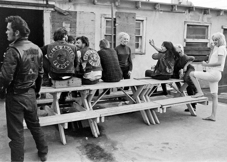 Hells Angles En 1965 Bill Ray 27 Photos Des Angels Photographie Photo Moto