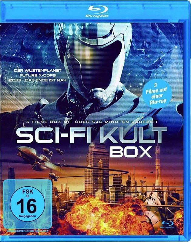 SCI-FI KULT BOX (3 Filme)  - Der Wüstenplanet ...