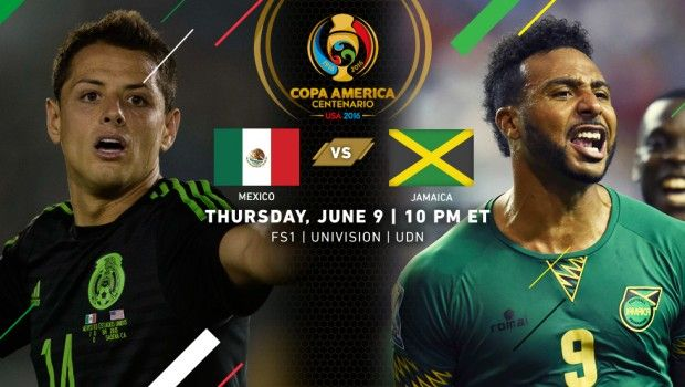 "Copa America Centenario Match Recap | Mexico 2, Jamaica 0 | (June 9th, 2016 @ Rose Bowl in Pasadena, CA) Attendance 83,263 | Javier ""Chicharito"" Hernandez expertly headed Mexico into an early lead (10th minute) and his second-half substitute, Oribe Peralta, put the finishing touch on another sweeping Mexican attack (81st minute) with nine minutes left to secure El Tri's second win in as many games."