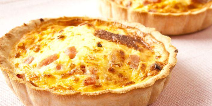 Kις λορέν με αυγά και τυρί! - Quiche lorraine with eggs and cheese!   Smile Greek