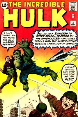 Jack Kirby Hulk | ... 1950s 1960s 1970s 1980s : Incredible Hulk #3 - Jack Kirby art & cover