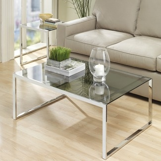 72 best Glass coffee tables images on Pinterest