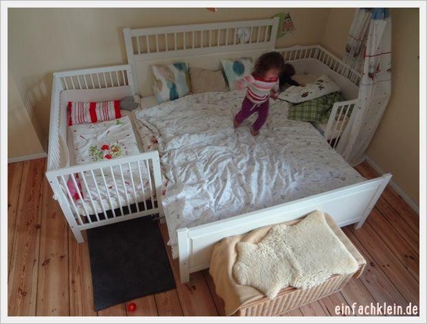 AP-Krabbelgruppe heute: Familienbett sichern, Durchschlafen und nächtliches Stillen   Einfach klein