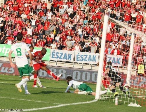 I'Imam Seydi második gólja az FTC elleni meccsen. DVTK - FTC 2-2