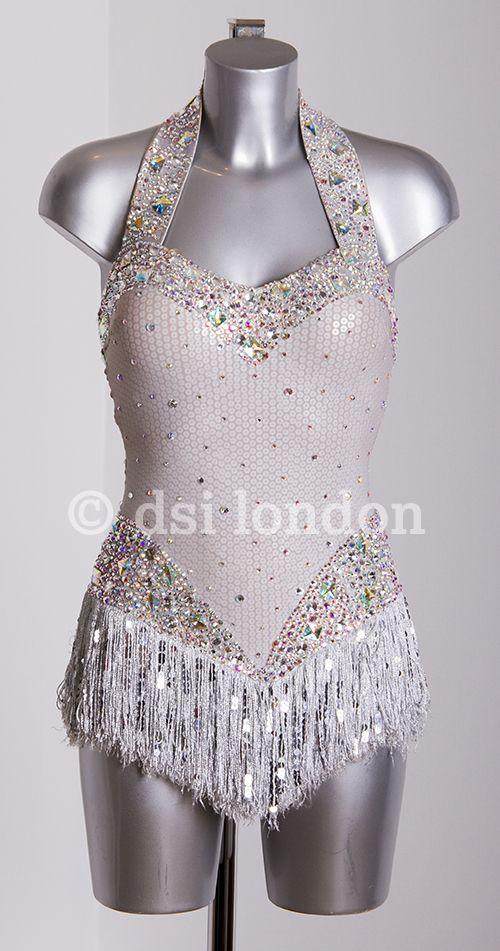 DSI London | Ladies' Wear | DSI Designer Dresses | 334990 Silver fringe