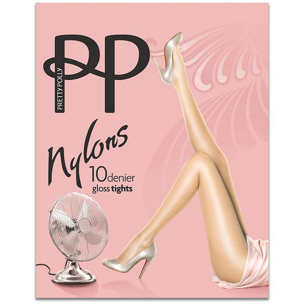 Pretty Polly Sheer Gloss Nylons ($15) ❤ liked on Polyvore featuring intimates, hosiery, tights, pantyhose, sheer, women, shiny stockings, nylon stockings, pantyhose stockings and wet look stockings