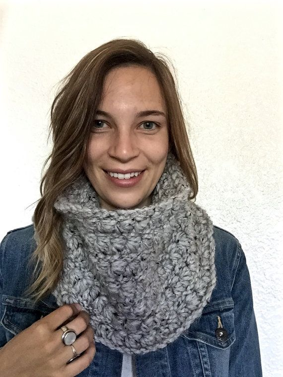 ↠ Handmade ↠ Chunky crochet ↠ Machine washable ↠ Tube shaped cowl scarf ↠ Warm and cozy ↠ Perfect blend of wool and acrylic WHY PEOPLE LOVE THIS This chunky crochet cowl is both adorable and functional. Its simple yet unique design make it perfect for any cold weather outfit. It is available in a variety of colours making it a necessary accessory for fall/winter weather. MATERIAL & CARE This cowl scarf is made of the softest blend of wool and acrylic. Machine washable in cold and lay flat…