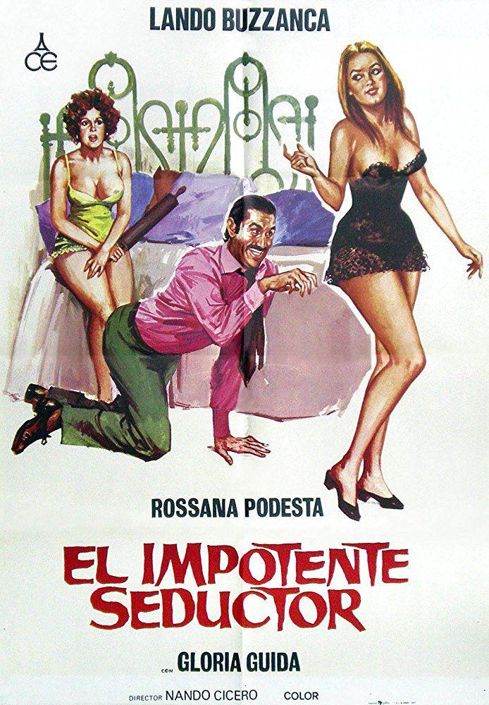 Lando Buzzanca, Gloria Guida, and Rossana Podestà in Il gatto mammone (1975)