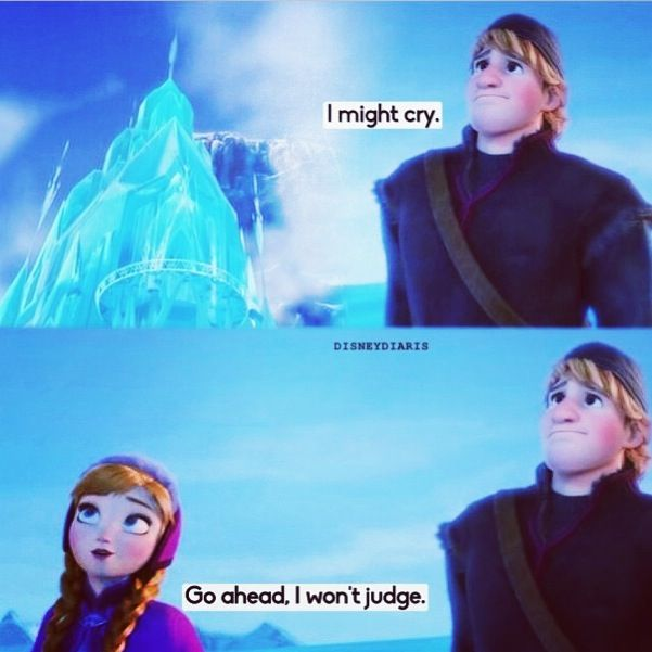 One of my favorite lines from Frozen