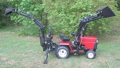 """Gallery - Category: Customers Pics: The """"Micro Hoe"""" for small tractors"""