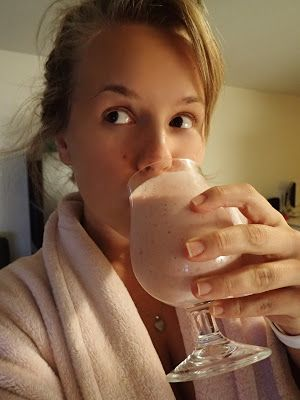 Elisabeth's blog: A smoothie makes the day
