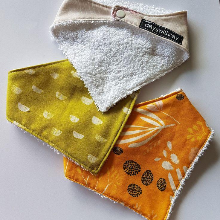 NEW bandana dribble bib sets