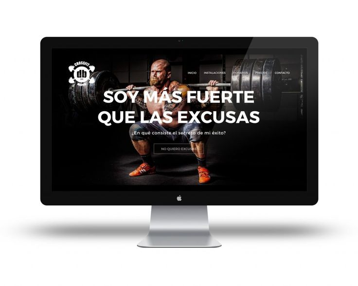 Webpage Webdesign Branding crossfit Madrid http://www.365studio.es/2016/09/16/crossfit-db-madrid/