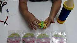 moldes de miss dorita de porta lapiz - YouTube
