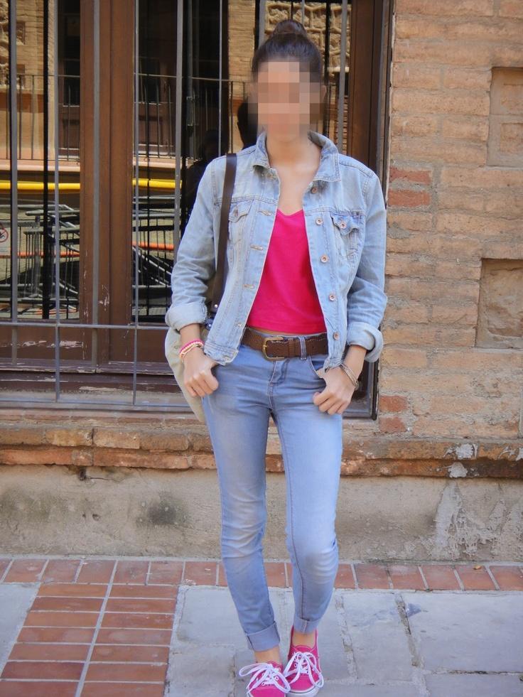 A Barcelona: Rose Crop Top