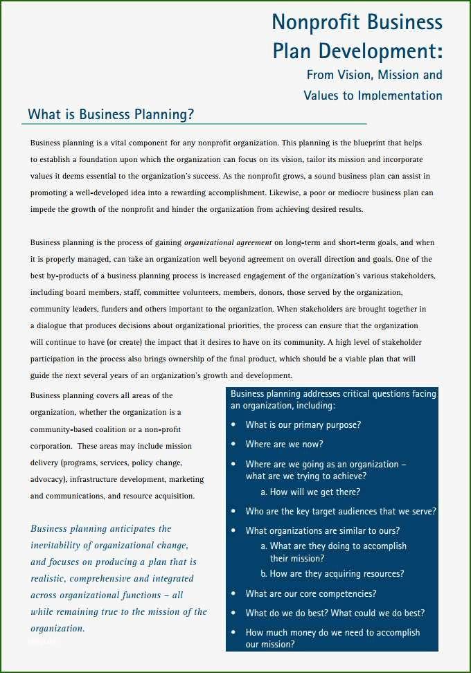 16 Sensational Free Nonprofit Business Plan Template Business Plan Template Business Plan Template Word Business Proposal Template