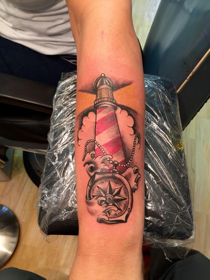 Lighthouse tattoo oldschool