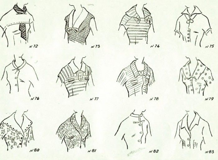Neckline Drawing : Best images about neckline designs collar blouses