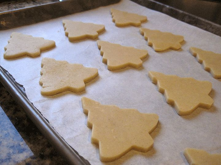 High altitude cut out sugar cookies