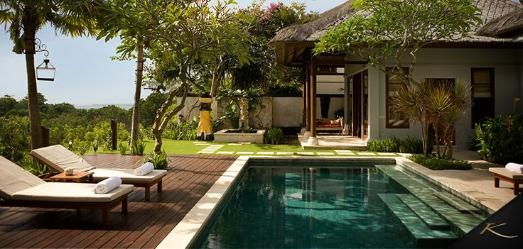 Supersized Villas at #KarmaJimbaran. A sneak peek at one of our very best: Valey View Delux Pool villa! #Bali