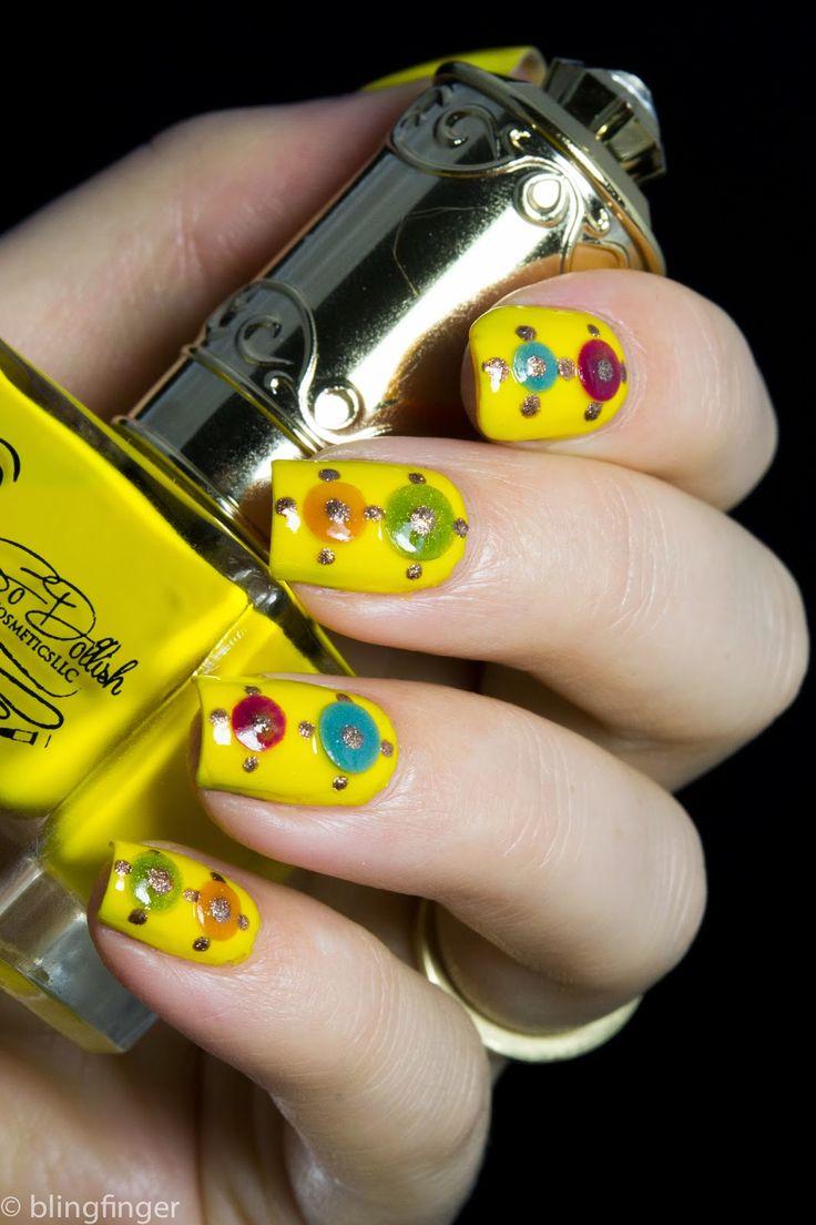 Mejores 76 imágenes de YELLOW NAIL en Pinterest | Uñas amarillas ...