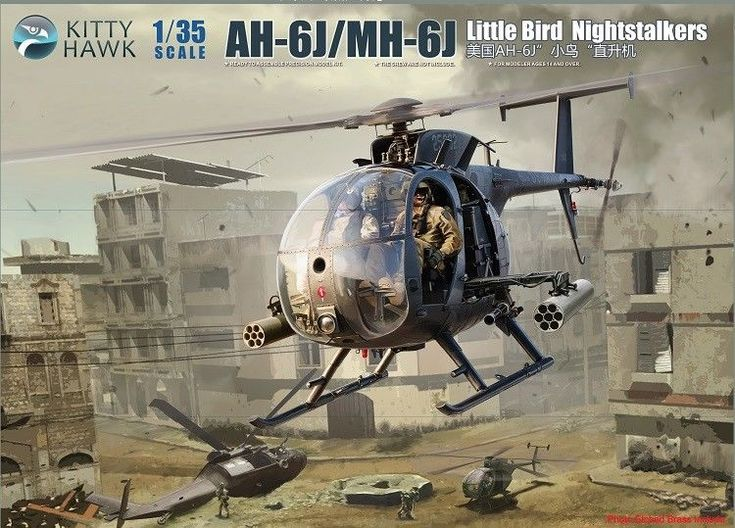Kitty Hawk 1/35 KH50003 AH-6J/MH-6J Little Bird Nightstalkers | eBay