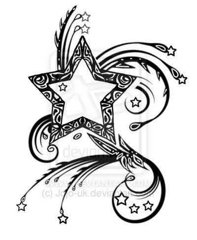 tribal stars | Viking Tattoo Designs A Norse Inscription Is Perhaps The Best Way To