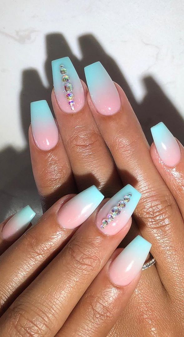 Awesome New Year Best Ombre Nail Ideas For 2020 Page 9 Of 32 Ombre Nails New Years Nail Designs Nails