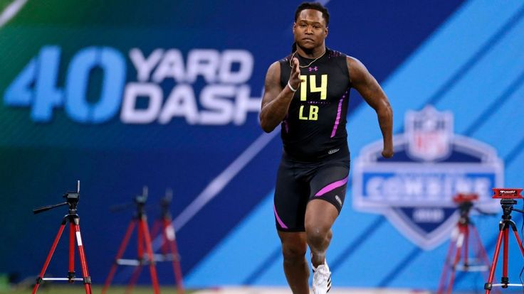 Best of everything at the 2018 NFL combine  NFL Nation   Its not every day that a 227-pound linebacker runs the 40-yard dash at the NFL scouting combine in 4.38 seconds.  Central Florida linebacker Shaquem Griffin did that and more running the fastest 40-yard dash for a 225-pound defender since 2006. It also equaled the time his twin brother Shaquil  a 198-pound cornerback for the Seahawks  ran at the combine last year.  Griffin had one of the most impressive weeks at the combine for his…