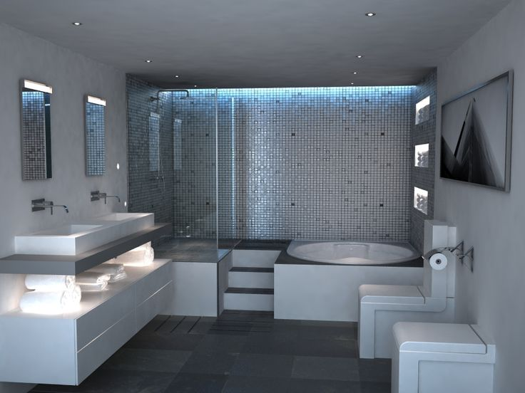 Ricardo Muñoz 3d: Diseño Baño