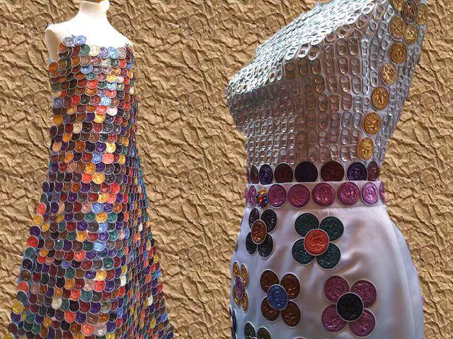 7 originales ideas para hacer ropa y vestidos con - Fotos originales para hacer en casa ...
