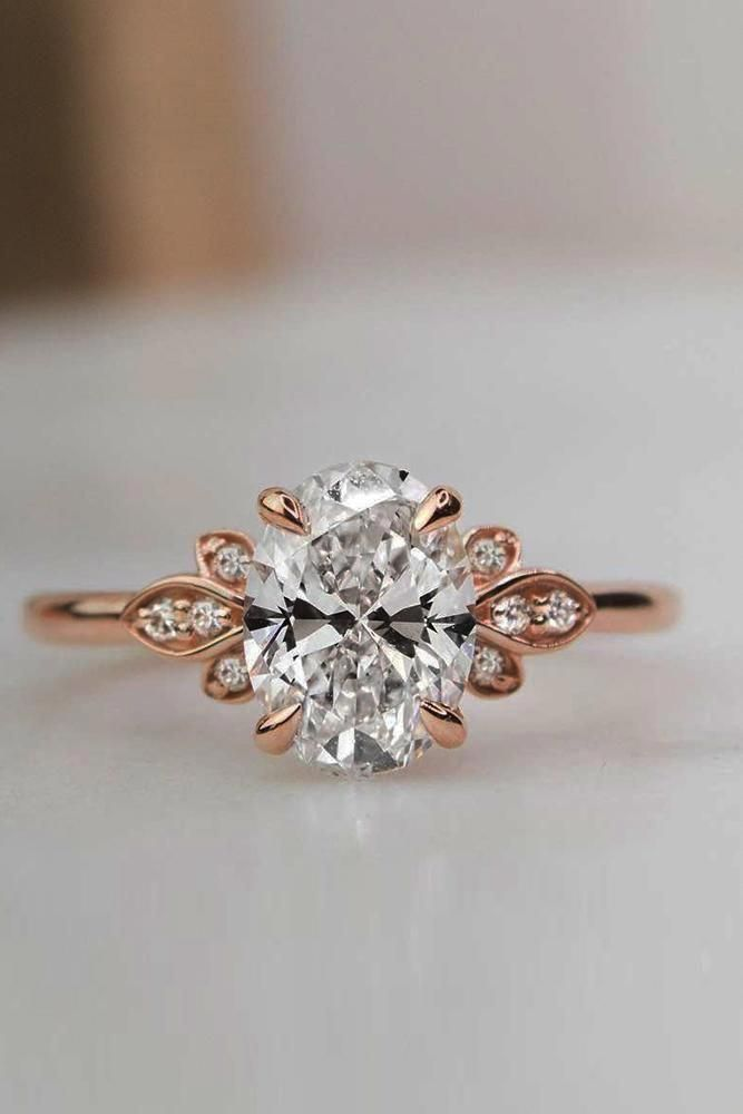 27 Unique Engagement Rings That Will Make Her Happy We Have Collected The Most Popular Rose Engagement Ring Unique Engagement Rings Morganite Engagement Ring