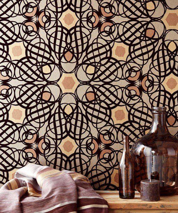 25 beste idee n over reli f behang op pinterest behang for Behang per m2