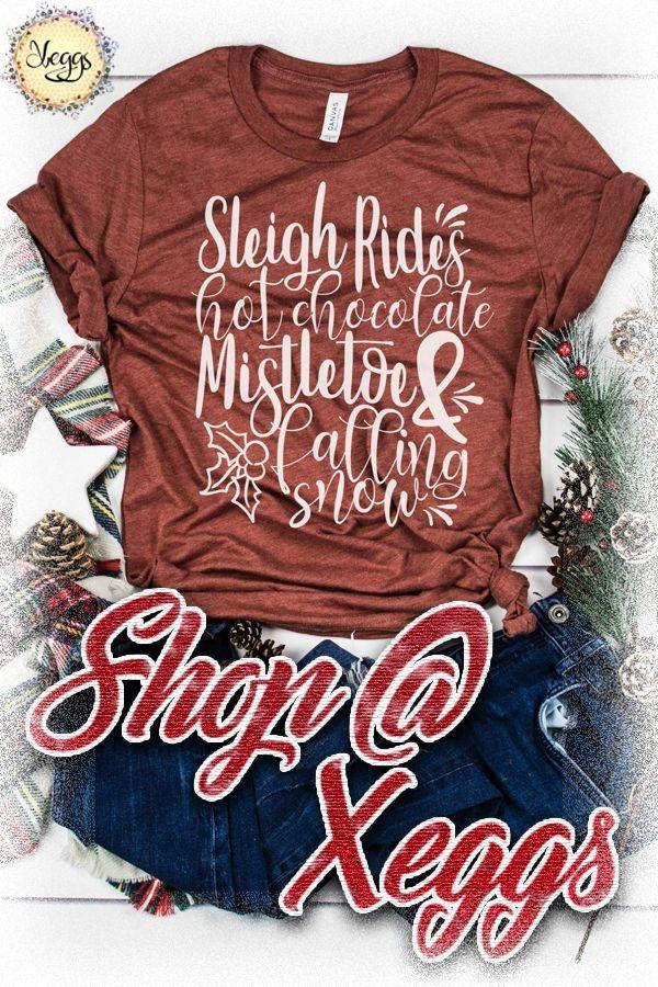 Christmas Vibes Shirt Christmas Shirt Sleigh Bells