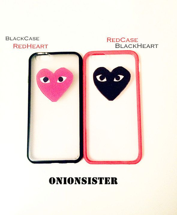 detailed look 7a026 fd1cf Red Heart Black Heart iPhone Case | TPU iPhone Case 5/5s | Cool ...