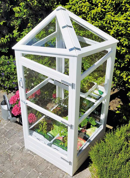 Build your own mini greenhouse woodworking projects plans for Build your own greenhouse plans