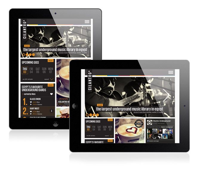 CILANTRO ONLINE / Creative, Web Design, User Experience