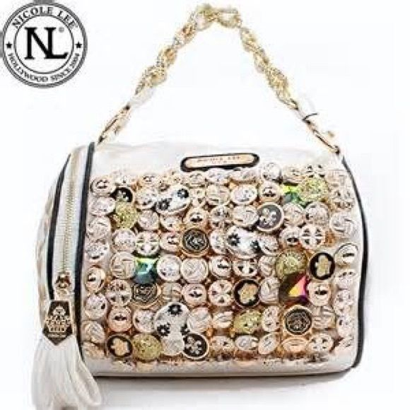 ✨The Sarah✨Nicole Lee Sparkling Button Purse✨HPHTF Showstopper✨Host Pick 10/19 Nicole Lee Bags Shoulder Bags