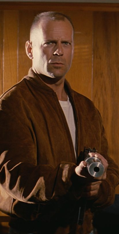 Pulp Fiction ( 1994 ). I can personally attest that Bruce Willis is one COOL (meaning classy) DUDE!