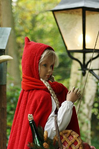 Little red riding hood, Efteling