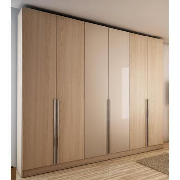 Manhattan Eldridge Wardrobe In Oak Vanilla and Nude - 34163 from BEYOND Stores