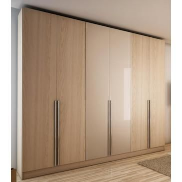 Manhattan Eldridge Wardrobe In Oak Vanilla and Nude - 34163 from BEYOND Stores