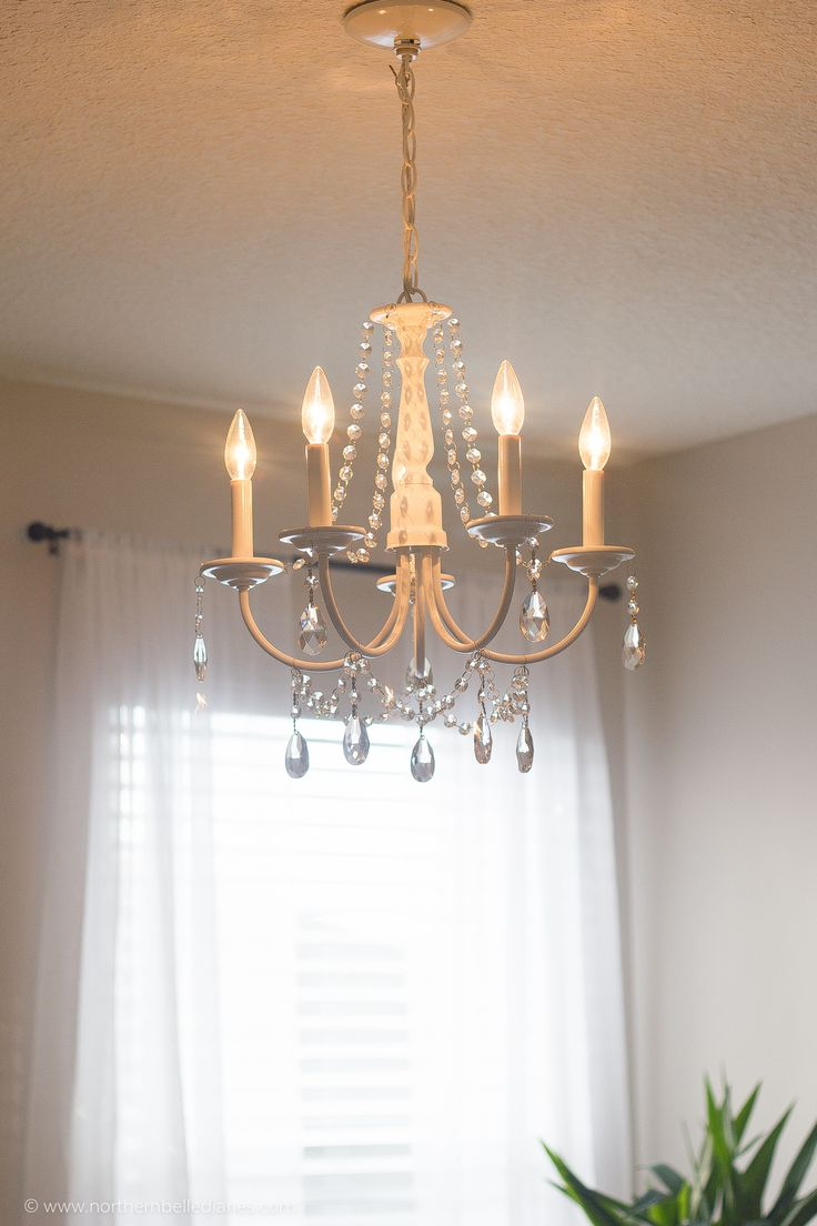 DIY Crystal Chandelier easy tutorial 17 best