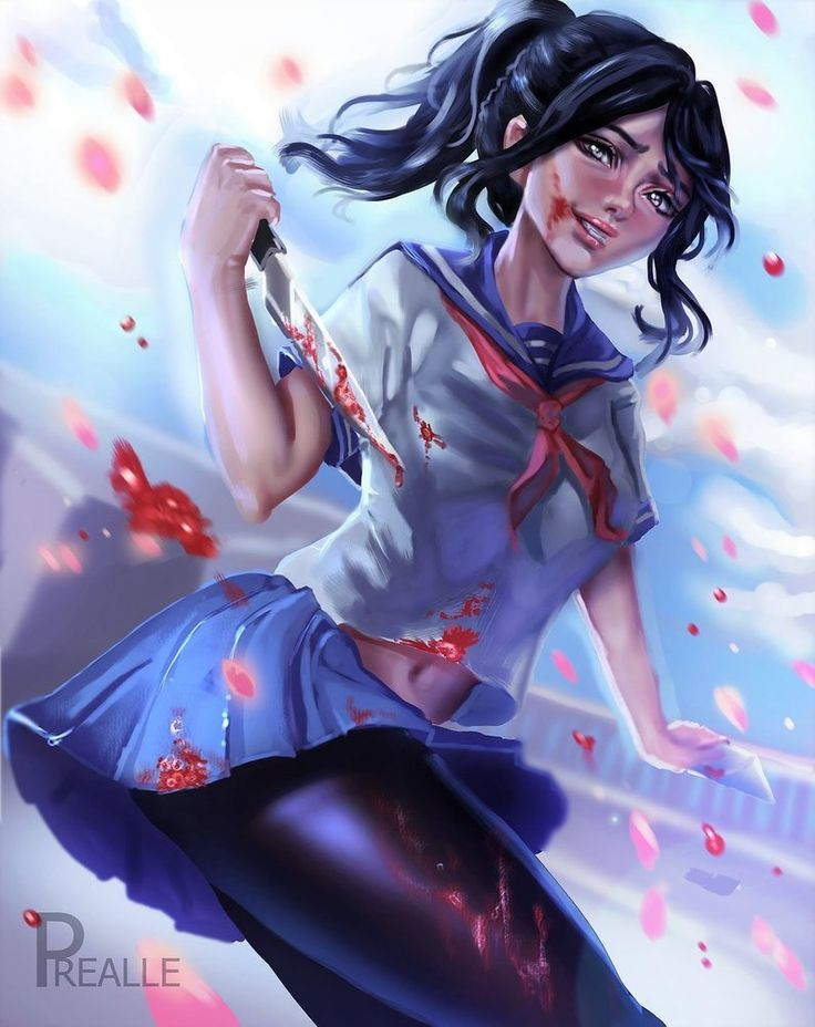 [Yandere Simulator] Ayano Aishi by Prealle