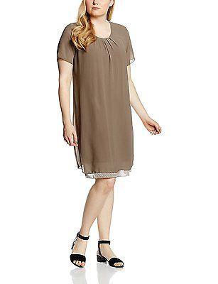 16, Brown - Braun (Light Cogmac 754), Frapp Women's Kleid ...
