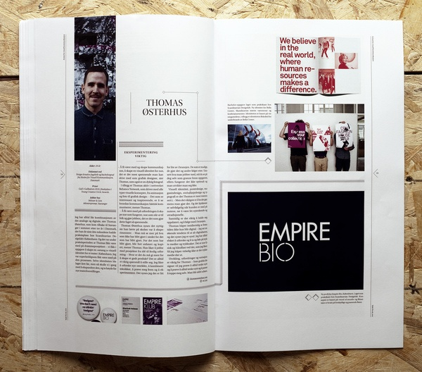 Snitt Magazine / via mag spreads #editorial #design